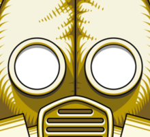 Gasmask Apocalypse Sticker