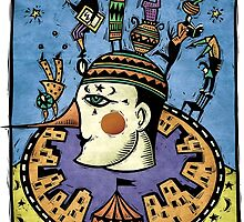 Pierrot by Sue Todd