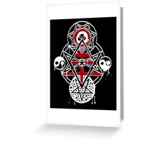 Thelemic Tree Greeting Card