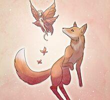Fox & Fae by OddworldArt