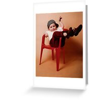 One Can Always Rely On One's Da' To Embarrass One! Greeting Card