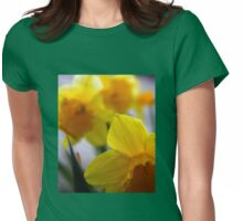 You'd be Daff'd not to get out in the Garden Womens Fitted T-Shirt