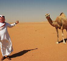 Desert of Saudi Arabia by Karen Field