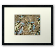autumngirl Image2- Exquisite Sepia + Parameter Framed Print