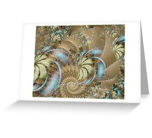 autumngirl Image2- Exquisite Sepia + Parameter Greeting Card