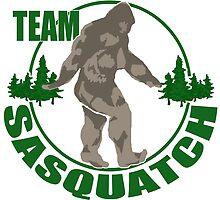 Team Sasquatch by saltypro