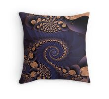 "Forwards & Backwards (""Exquisite-sepia"" step-03jrf) Throw Pillow"