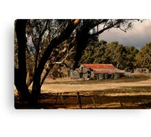 Old Shedding Lexton Victoria Canvas Print