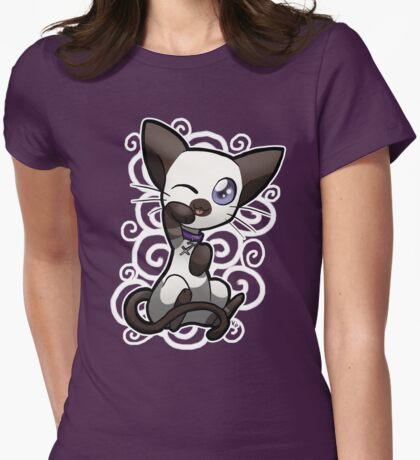 Zodiac Cats - Sagittarius Womens Fitted T-Shirt
