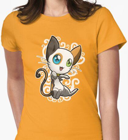 Zodiac Cats - Gemini Womens Fitted T-Shirt