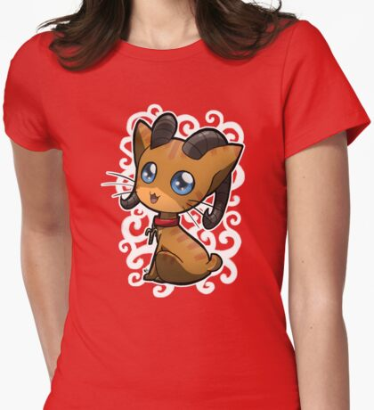 Zodiac Cats - Aries Womens Fitted T-Shirt