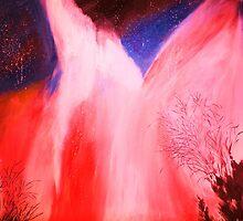 Aurora Borealis by Nalini Bhat