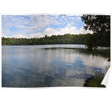Lake Eacham Reflectivity Poster
