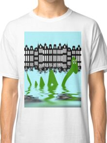 Loch Ness Monster on holiday in Amsterdam Classic T-Shirt