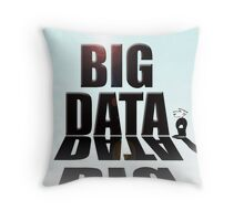 Big data Throw Pillow