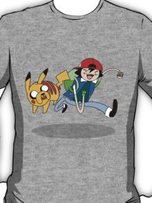 Pokemon Adventure Time T-Shirt