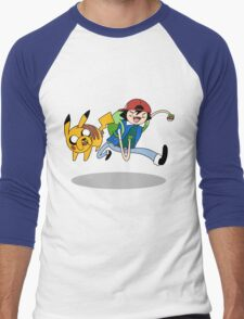 Pokemon Adventure Time Men's Baseball ¾ T-Shirt