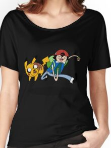Pokemon Adventure Time Women's Relaxed Fit T-Shirt