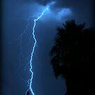 Blue lightning- Kalgoorlie, Western Australia by Ashli Zis