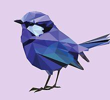 Uluru Blue Bird by Mesomex