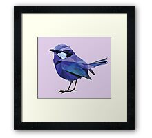 Uluru Blue Bird Framed Print