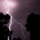 Lightning in the Goldfields- Kalgoorlie, Western Australia by Ashli Zis