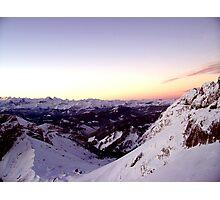 Swiss Delight (Part Deux) Photographic Print