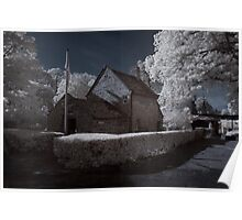 Cook's Cottage - Infrared Poster