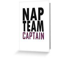 Nap team captain Greeting Card