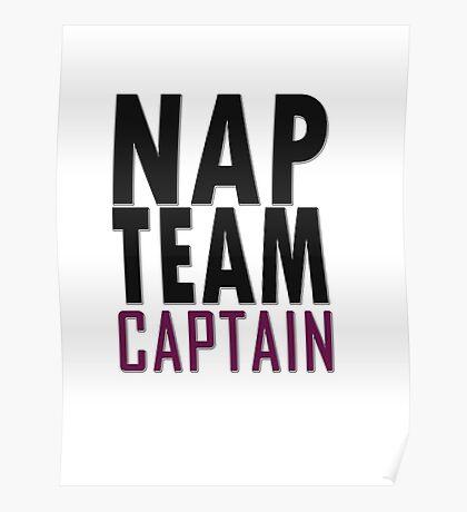 Nap team captain Poster