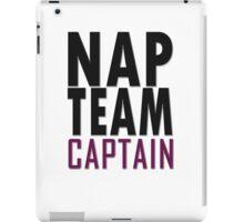 Nap team captain iPad Case/Skin