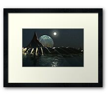 Leviathan at Rest Framed Print