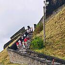 Going up!  Ft. Thomas, St. Kitts by Memaa