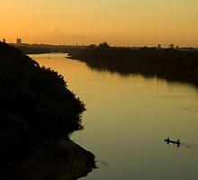 Golden River Zen Ficher by Chaordicphoton