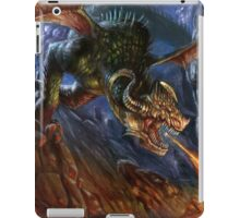 Hellish Earthquake  ©2015 MicheleGiorgi iPad Case/Skin