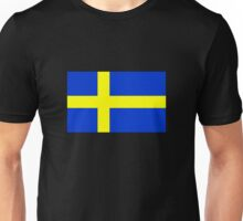 Swedish Flag Unisex T-Shirt