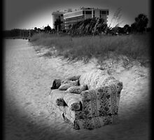 The True (But Incredible) Story Of The Couch On The Beach : I Just Wanna Go Back Home... by artisandelimage