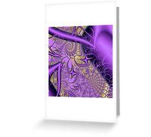 Exquisite sepia Image 1 Viennablue + Parameter Greeting Card