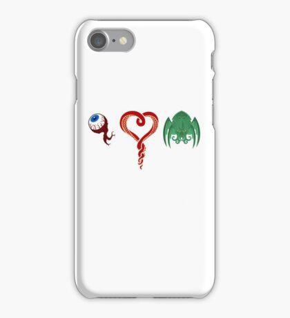 I Love CTHULHU iPhone Case/Skin