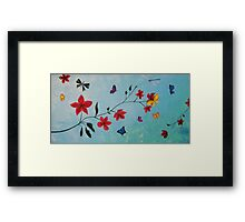 Butterflies, Life & Hope Framed Print