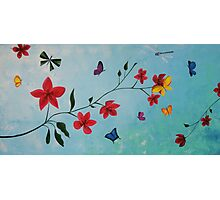 Butterflies, Life & Hope Photographic Print