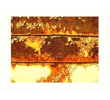 Rusting Away the Time Art Print