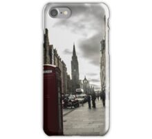The Royal Mile - Phone Booth iPhone Case/Skin