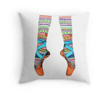 Happy Ballet Throw Pillow