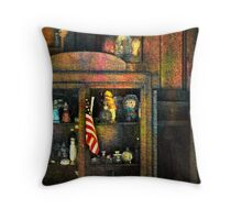 The Trinkets In Grandma's Hutch  (photo story) Throw Pillow