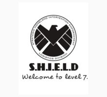 S.H.I.E.L.D- welcome to level 7 Kids Tee
