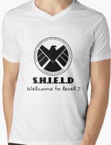 S.H.I.E.L.D- welcome to level 7 Mens V-Neck T-Shirt