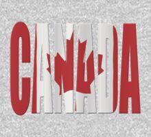 Canada flag Kids Tee