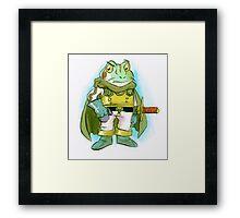 Frog - Chrono Trigger Framed Print