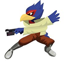 Falco - Super Smash Brothers Melee Nintendo by niymi